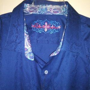 Robert Graham Blue Longsleeve Shirt
